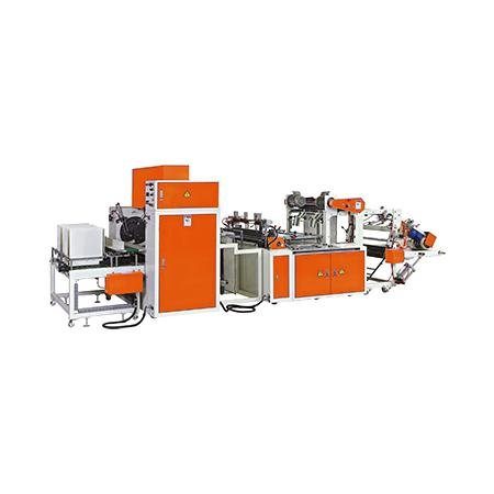 Double-Lane with Core Fully Automatic Servo Control Perforating Bag-on-Roll Machine