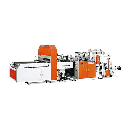 Triple-Lane Fully Automatic High Speed T-Shirt Bag Making Machine